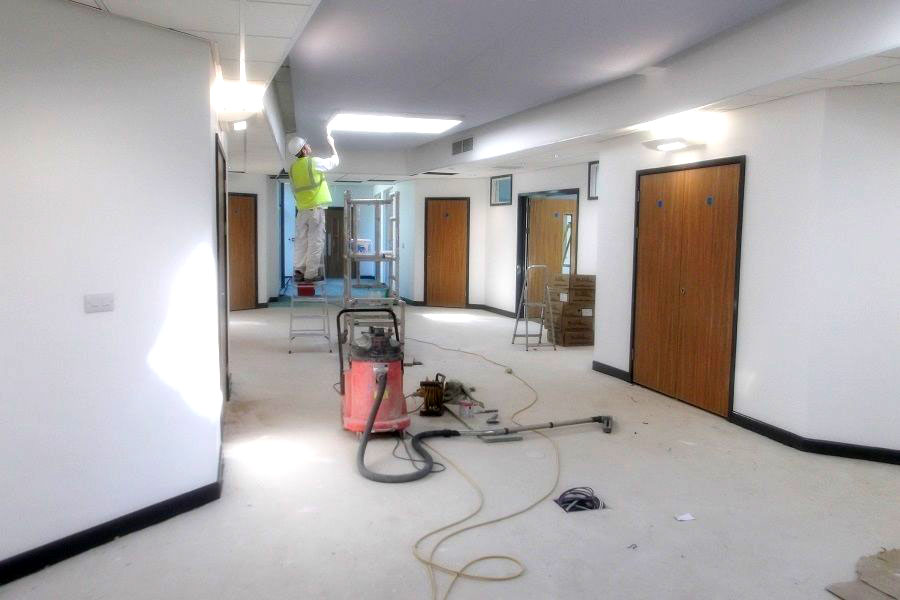 Post Construction Clean Up Zion Janitorial Commercial
